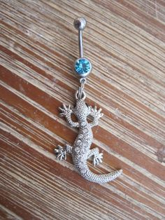 Belly Button Ring  Body Jewelry  Silver by BriellesJewels on Etsy, $10.00