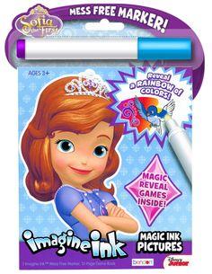 ABBY Disney Sofia The First Imagine Ink Book