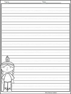 Thanksgiving Writing Template for Kindergarten | Thanksgiving ...