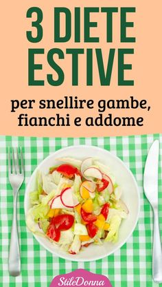 #diete #dimagrire #stiledonna 3, Ethnic Recipes, Food, Diets, Meal, Essen, Hoods, Meals, Eten