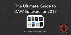 Du suchst gute Software zum Aufnehmen und Abmischen? In diesem Artikel stelle ich Dir die 10 beliebtesten kostenlosen und -pflichtigen DAWs vor. Stand: 2017