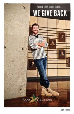 :D Only awesome people do this, hence Josh Turner.  www.BootCampaign.com