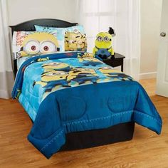 d474bede7e3a Despicable Me Minions Kids Bed in Bag Bedding Set - Walmart.com