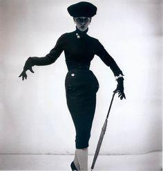 Anne Sainte-Marie pour Christian Dior, 1950.