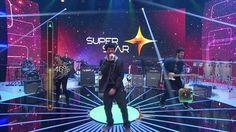 Scambo canta música autoral, agrada todos os jurados e atinge 84% - notícias em O programa - SuperStar
