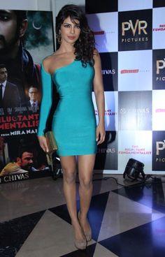 Priyanka Chopra at the premiere of Mira Nairs Reluctant Fundamentalist at PVR Cinemas in Juhu, Mumbai on Wednesday, May 15, 2013.