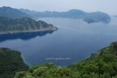 One of the panoramic views from the hilltops of Turgut village - overlooking the village of Selimiye