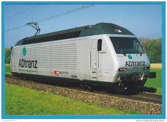 """SBB CFF Re 460 0342 """"Zugkraft Aargau"""" Train Bahn"""