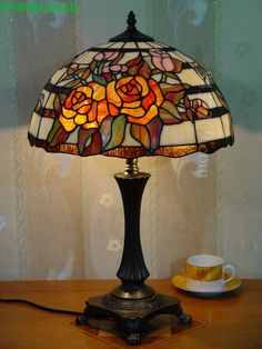 Rose Tiffany Lamp 16S0 265T702