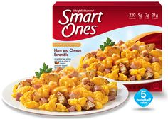 Weight Watchers® Smart Ones® Ham and Cheese Scramble