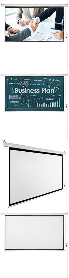 Projection Screens and Material: 100 16:9 Electric Motorized Remote Control Screen Matte White Projector Screen -> BUY IT NOW ONLY: $63.99 on eBay!