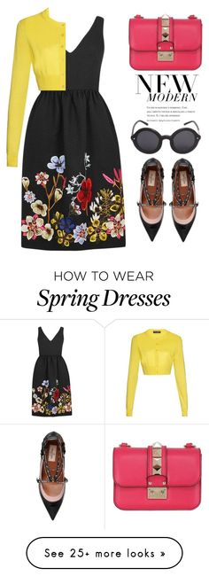 """""""Spring Floral"""" by ivansyd on Polyvore featuring Erdem, Dolce&Gabbana…"""