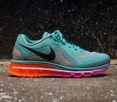 Nike Flyknit Air Max – Jade Glaze / Bright Magneta