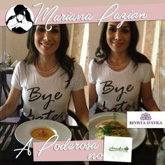 A Poderosa Mariana Pazian curtindo um almoço delicioso no Daisho Restaurante Indaiatuba