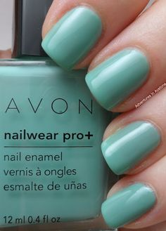 Avon Nailwear Pro+ Sea Breeze son tan regios los colores!