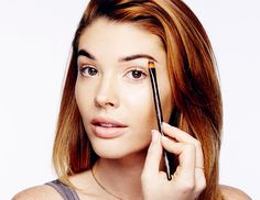 my new hair color How to Apply Highlighter In 4 Easy Steps via @byrdiebeauty