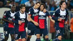 BBC Sport - Ligue 1: PSG beat Marseille to move level with Monaco