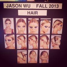 Hair/ Makeup for Jason Wu