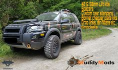 Muddymods.com specialist freelander parts Freelander 2, Land Rover Freelander, Pickup, Cerberus, Land Rovers, Cars And Motorcycles, Rally, Offroad, 4x4