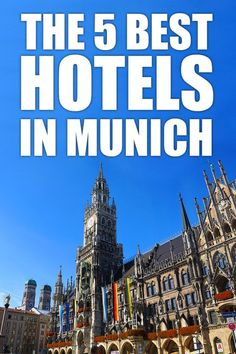 The 5 best hoteals near Marienplatz in Munich. Budget or luxur - find out the best hotels in the city center of Munich. Explore Bavaria's capital and the heart of Germany. Click for more information: