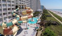 Crown Reef Beach Resort and Waterpark for Summer Enjoy a 3 Days and 2 Nights Stay in a Deluxe Hotel Room at the Crown Reef Beach Resort and Waterpark for this Summer Myrtle Beach Vacation for as little as $189!