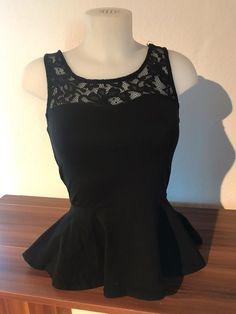 Mein Only Shirt schwarz Schößchen A-Linie Spitze von ONLY. Größe 36 / S / 8 für 5,00 €. Schau es dir an: http://www.kleiderkreisel.de/damenmode/schosschentops/159914240-only-shirt-schwarz-schosschen-a-linie-spitze.