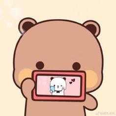 Frog Wallpaper, Cute Wallpaper Backgrounds, Cute Cartoon Wallpapers, Cute Bear Drawings, Cute Cartoon Drawings, Cute Cartoon Pictures, Cute Anime Profile Pictures, Chibi Cat, Cute Chibi