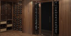 Modern Contemporary Wine Cellar by Papro Consulting 30c