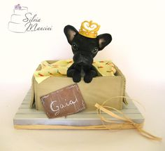 DOG CAKE by Silvia Mancini Cake Art