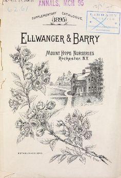 Ellwanger & Barry's supplementary catalogue