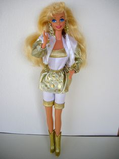 '90s Barbie -- Hollywood Hair Barbie