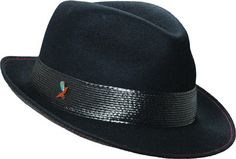 d9f57b00 Carlos Santana Men's Wool Blend Fedora, Black, Large at Amazon Men's  Clothing store: Dope HatsCarlos ...