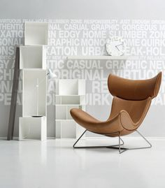 Contemporary Leather Armchair Imola By Boconcept Boconcept, Cool Furniture, Modern Furniture, Furniture Design, Urban Interior Design, Wooden Chair Plans, Chair Design Wooden, Contemporary Armchair, Home Tech