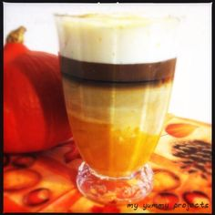 "Leckeres mit Kürbis: ""Pumpkin Spice Latte"" ""my yummy projects"" foodblog"