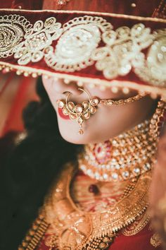 Perfect finishing to a bridal look is given by stunning nose rings! Book the best makeup artist now with BookEventZ to get the perfect bridal look on THE DAY! #nathnis #noserings #amazingnoserings #weddingring #weddingnosering #marriage #wedding #bride #bridaljewellery #bookeventz #beautifulbrides #beautifulindianbrides #indianbrides #bridetobe #marathinath #marathi #nosering #bridalwear #wedding #weddinginspiration #ghunghat #traditional #traditionalwedding #traditionalwear #ethnic #ethnics