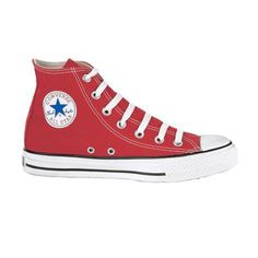 Converse All Star Hi Athletic Shoe, Red  Journeys Shoes a classic