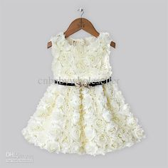 Baby Girls Dresses Pale Yellow Dres