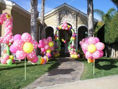 Beautiful Balloon entry idea