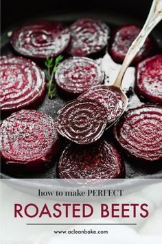 Properly roasted beets are a far cry from those tasteless pink slabs from a can. Roasted beets are sweet tender and delicious! Properly roasted beets are a far cry from those tasteless pink slabs from a can. Roasted beets are sweet tender and delicious! Side Dish Recipes, Vegetable Recipes, Comida Siciliana, Healthy Snacks, Healthy Recipes, Beet Recipes Healthy, Recipes For Beets, Vegetarian Recipes, Beetroot Recipes