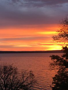 Burt Lake Sunrise Northern Michigan