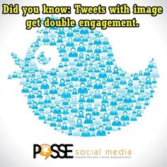 Did you know: Tweets with image get double engagement. #twitter @Ashley Olendorff  It's not only in Facebook and Pinterest but Twitter too! People become more visuals, students with water  finds double engagement.#socialmedia