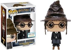 Your favorite characters from Harry Potter are adorable Pop! Vinyl figures! This Harry Potter Sorting Hat Pop! Vinyl Figure features a seated Harry wearing the sorting hat. A Barnes & Noble Exclusive.
