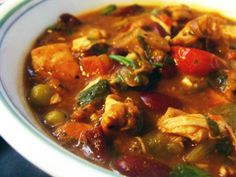 Mexican Chicken Chili Soup