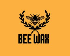Bee Wax Logo design - Bee Wax - Bee logo design is perfect for bee based brand name. Bee is perfectly drawn in logo design with vintage touch.<br /><br />  Price $99.00