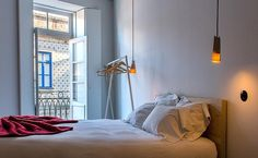 One bedroom studio at Miss'Opo - Miss'Opo, in Porto, Portugal Hotels Portugal, Porto Portugal, One Bedroom, Bedroom Decor, Lisbon Apartment, Portugal Holidays, Airbnb House, Interior Architecture, Townhouse