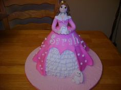 Princess cake Aurora Sleeping Beauty, Cakes, Disney Princess, Disney Characters, Scan Bran Cake, Kuchen, Pastries, Cookies, Disney Princes