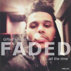 Faded.Abel.Tesfaye.TheWeeknd.X❤️O.