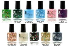 Chalkboard Nails News: KBShimmer Announces Blogger Collection for Holiday 2013