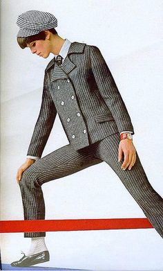 Pinstripes    From Seventeen, August 1966