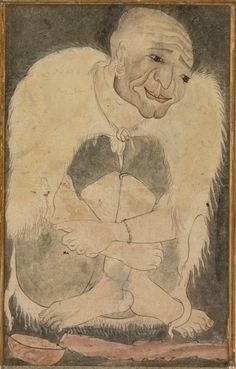 Begging Dervish in a Sheepskin Mantle   LACMA CollectionsTurkey, second quarter of 17th century Manuscripts; folios Opaque watercolor on paper 8 5/16 x 5 3/8 in. (21.1 x 13.6 cm) The Edwin Binney, 3rd, Collection of Turkish Art at the Los Angeles County Museum of Art (M.85.237.98)